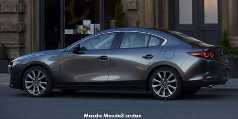 Mazda Mazda3 sedan 1.5 Active - Image credit: © 2019 duoporta. Generic Image shown.