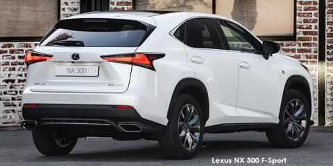 Lexus NX 300 F-Sport - Image credit: © 2020 duoporta. Generic Image shown.