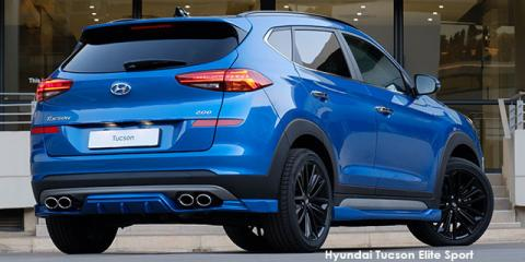Hyundai Tucson 1.6T Elite Sport - Image credit: © 2020 duoporta. Generic Image shown.