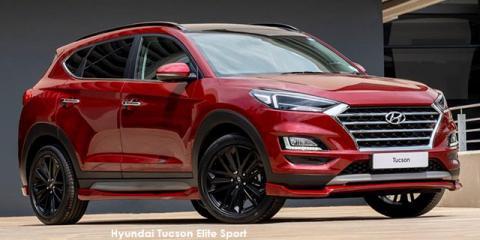 Hyundai Tucson 2.0D Elite Sport - Image credit: © 2021 duoporta. Generic Image shown.