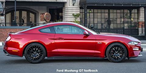 Ford Mustang 2.3T fastback - Image credit: © 2020 duoporta. Generic Image shown.