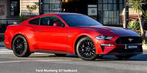 Ford Mustang 5.0 GT fastback - Image credit: © 2021 duoporta. Generic Image shown.