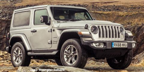 Jeep Wrangler 3.6 Sahara - Image credit: © 2020 duoporta. Generic Image shown.