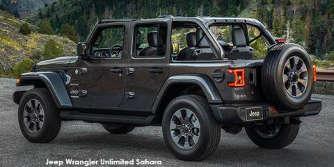 Jeep Wrangler Unlimited 3.6 Sahara - Image credit: © 2020 duoporta. Generic Image shown.