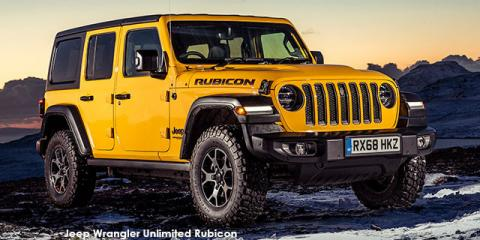 Jeep Wrangler Unlimited 3.6 Rubicon - Image credit: © 2021 duoporta. Generic Image shown.