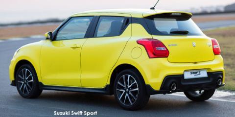 Suzuki Swift 1.4T Sport - Image credit: © 2020 duoporta. Generic Image shown.
