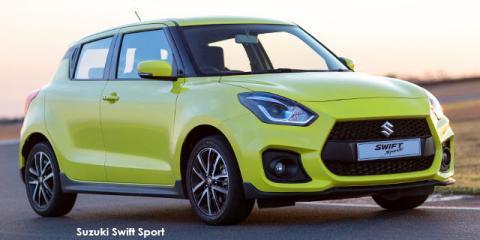 Suzuki Swift 1.4T Sport auto - Image credit: © 2019 duoporta. Generic Image shown.