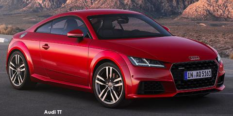 Audi TT coupe 45TFSI - Image credit: © 2019 duoporta. Generic Image shown.
