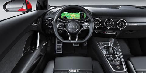 Audi TT coupe 45TFSI - Image credit: © 2020 duoporta. Generic Image shown.
