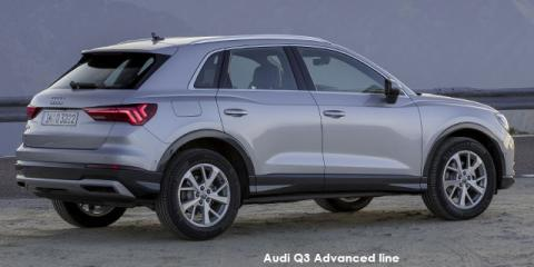 Audi Q3 35TFSI Advanced line - Image credit: © 2019 duoporta. Generic Image shown.