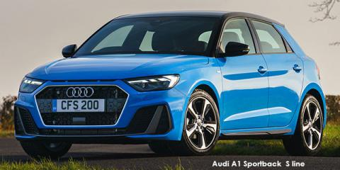 Audi A1 Sportback 30TFSI S line - Image credit: © 2019 duoporta. Generic Image shown.