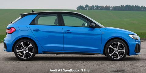 Audi A1 Sportback 35TFSI S line - Image credit: © 2020 duoporta. Generic Image shown.