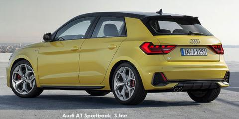 Audi A1 Sportback 40TFSI S line - Image credit: © 2020 duoporta. Generic Image shown.