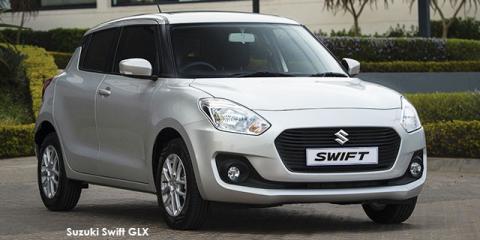 Suzuki Swift 1.2 GLX auto - Image credit: © 2019 duoporta. Generic Image shown.