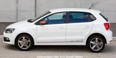 Volkswagen Polo Vivo hatch 1.4 Comfortline Sound Edition - Image credit: © 2019 duoporta. Generic Image shown.