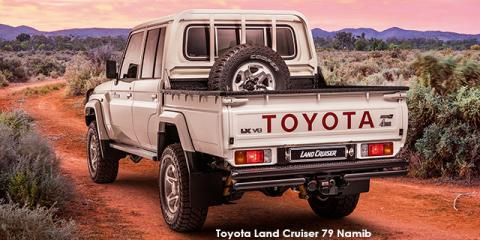 Toyota Land Cruiser 79 4.5D-4D LX V8 double cab Namib - Image credit: © 2021 duoporta. Generic Image shown.