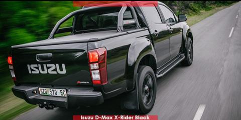 Isuzu D-Max 2.5 TD double cab X-Rider Black - Image credit: © 2019 duoporta. Generic Image shown.