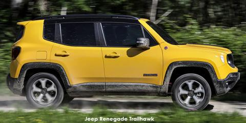 Jeep Renegade 2.4 4x4 Trailhawk - Image credit: © 2020 duoporta. Generic Image shown.