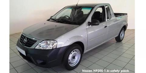 Nissan NP200 1.6i safety pack - Image credit: © 2021 duoporta. Generic Image shown.