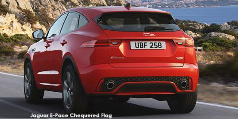 Jaguar E-Pace D180 AWD Chequered Flag - Image credit: © 2019 duoporta. Generic Image shown.