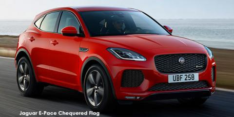 Jaguar E-Pace P250 AWD Chequered Flag - Image credit: © 2019 duoporta. Generic Image shown.