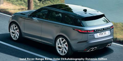 Land Rover Range Rover Velar SVAutobiography Dynamic Edition - Image credit: © 2020 duoporta. Generic Image shown.