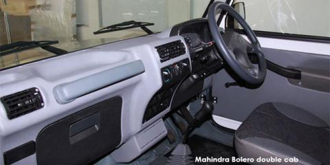Mahindra Bolero 2.5TD double cab - Image credit: © 2021 duoporta. Generic Image shown.