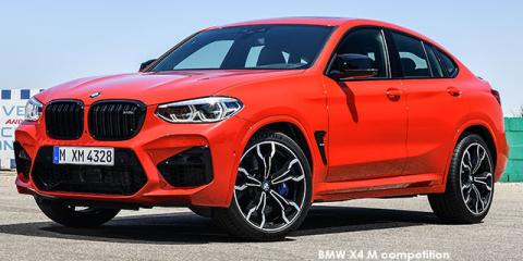 BMW X4 M competition - Image credit: © 2019 duoporta. Generic Image shown.