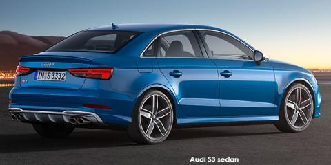 Audi S3 sedan quattro - Image credit: © 2020 duoporta. Generic Image shown.
