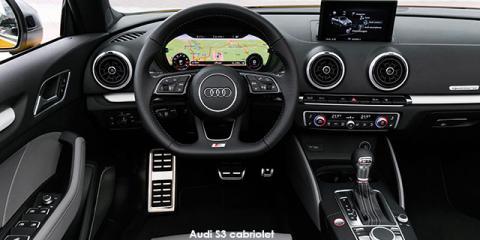 Audi S3 cabriolet quattro - Image credit: © 2020 duoporta. Generic Image shown.