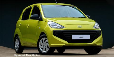 Hyundai Atos 1.1 Motion - Image credit: © 2021 duoporta. Generic Image shown.