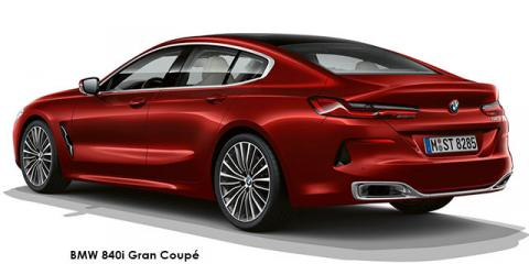 BMW 840i Gran Coupe - Image credit: © 2021 duoporta. Generic Image shown.