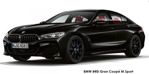 BMW 840i Gran Coupe M Sport - Image credit: © 2019 duoporta. Generic Image shown.
