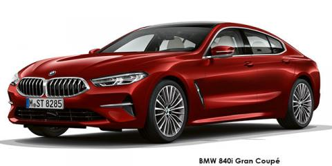 BMW 840d xDrive Gran Coupe - Image credit: © 2019 duoporta. Generic Image shown.