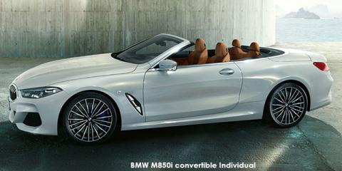 BMW M850i xDrive convertible Individual - Image credit: © 2020 duoporta. Generic Image shown.