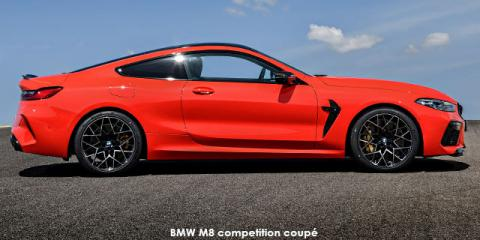 BMW M8 competition coupe - Image credit: © 2020 duoporta. Generic Image shown.
