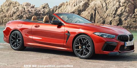 BMW M8 competition convertible - Image credit: © 2021 duoporta. Generic Image shown.