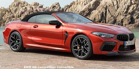 BMW M8 competition convertible - Image credit: © 2019 duoporta. Generic Image shown.
