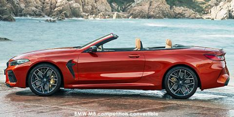 BMW M8 competition convertible - Image credit: © 2020 duoporta. Generic Image shown.