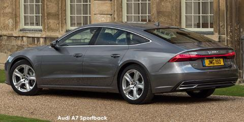 Audi A7 Sportback 55TFSI quattro - Image credit: © 2020 duoporta. Generic Image shown.