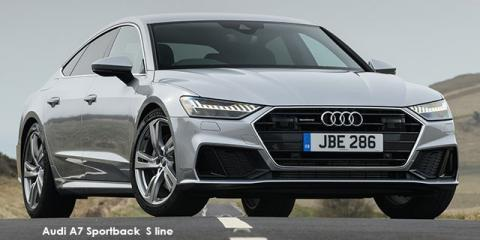 Audi A7 Sportback 55TFSI quattro S line - Image credit: © 2019 duoporta. Generic Image shown.