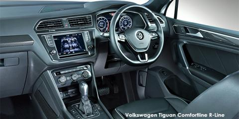 Volkswagen Tiguan 1.4TSI Comfortline R-Line - Image credit: © 2021 duoporta. Generic Image shown.