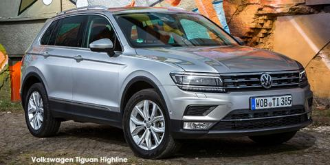 Volkswagen Tiguan 2.0TSI 4Motion Highline - Image credit: © 2021 duoporta. Generic Image shown.