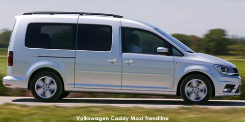 Volkswagen Caddy Maxi 2.0TDI Trendline auto - Image credit: © 2021 duoporta. Generic Image shown.