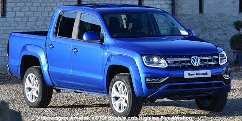 Volkswagen Amarok 2.0BiTDI double cab Highline 4Motion auto - Image credit: © 2020 duoporta. Generic Image shown.