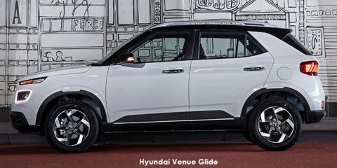 Hyundai Venue 1.0T Fluid auto - Image credit: © 2020 duoporta. Generic Image shown.