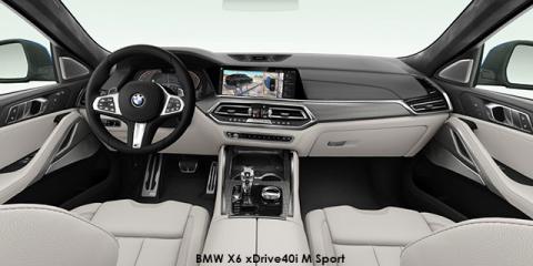 BMW X6 xDrive40i M Sport - Image credit: © 2019 duoporta. Generic Image shown.