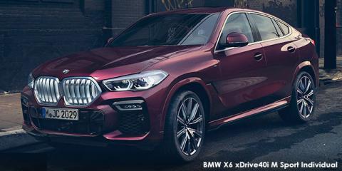BMW X6 xDrive40i Individual - Image credit: © 2019 duoporta. Generic Image shown.
