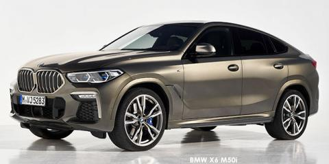 BMW X6 M50d - Image credit: © 2021 duoporta. Generic Image shown.