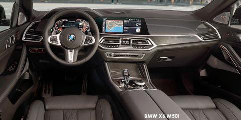 BMW X6 M50d - Image credit: © 2020 duoporta. Generic Image shown.